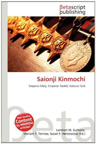 9786132996855: Saionji Kinmochi