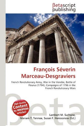 9786133026162: François Séverin Marceau-Desgraviers