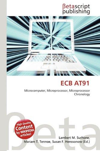 9786133084902: Ecb At91