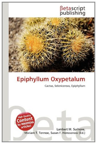 9786133125650: Epiphyllum Oxypetalum