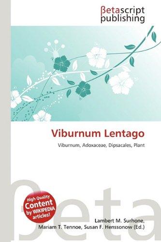 9786133177253: Viburnum Lentago