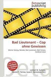 9786133313439: Bad Lieutenant - Cop Ohne Gewissen