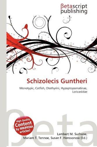 9786133344020: Schizolecis Guntheri
