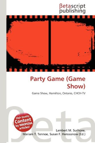 9786133381780: Party Game (Game Show)