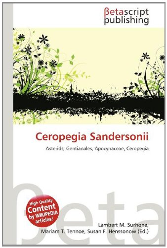 9786133499959: Ceropegia Sandersonii