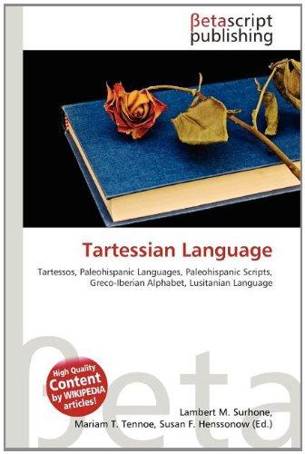9786133527102: Tartessian Language
