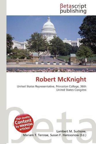9786133537088: Robert McKnight