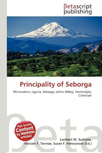 9786133540088: Principality of Seborga