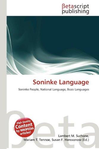 9786133552951: Soninke Language