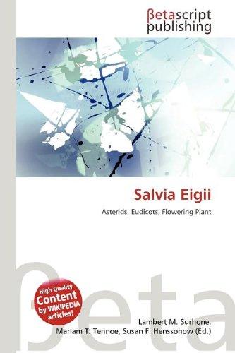 9786133554757: Salvia Eigii