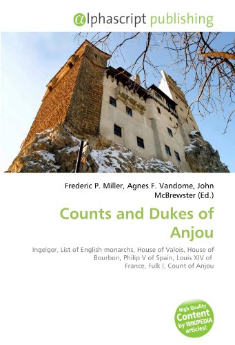 9786133590618: Counts and Dukes of Anjou