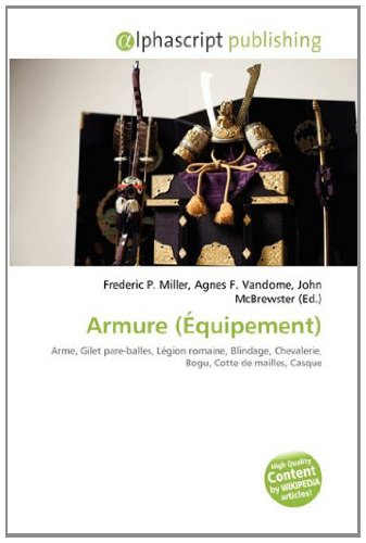 9786133592551: Armure (Équipement) (French Edition)