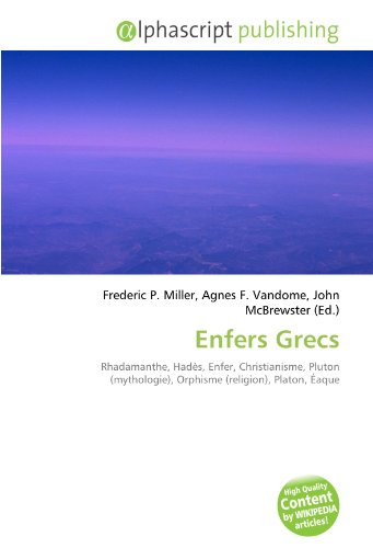 9786133595590: Enfers Grecs (French Edition)