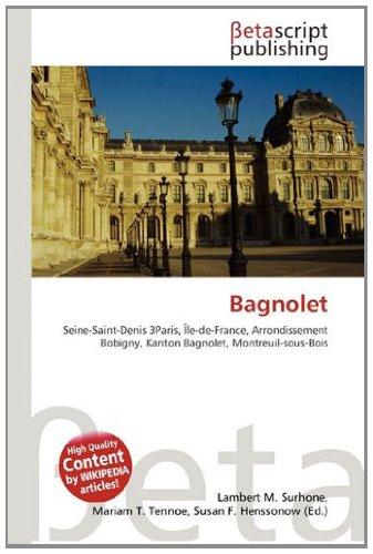 9786133632110: Bagnolet