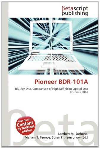 9786133666252: Pioneer Bdr-101a
