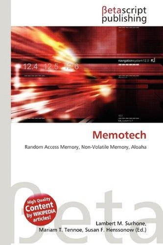 9786133683921: Memotech