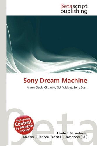 9786133690226: Sony Dream Machine