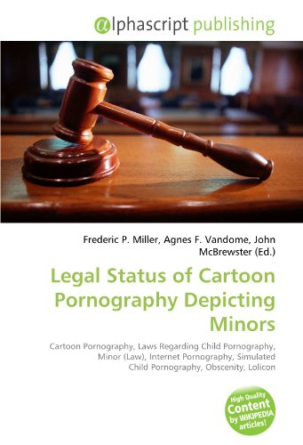 9786133794832 Legal Status Of Cartoon Pornography Depicting