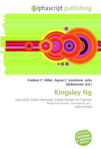 9786133813090: Kingsley Ng: Expo 2010, Antoni Muntadas, Echigo-Tsumari Art Triennial, Projection screen, Site-specific art, Andy Warhol