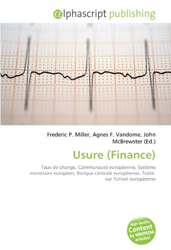 9786133841475: Usure (Finance) (French Edition)