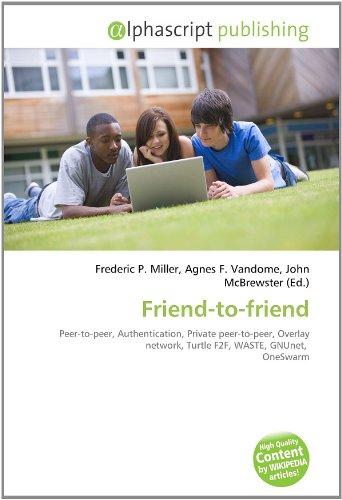 9786133851429: Friend-To-Friend