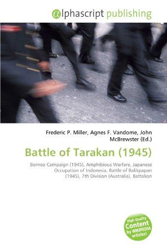 9786133877719: Battle of Tarakan (1945)