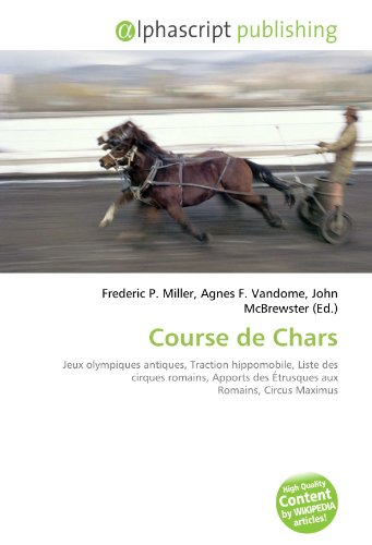 9786133927377: Course de Chars