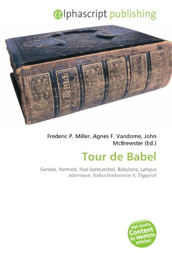 9786133929050: Tour de Babel (French Edition)
