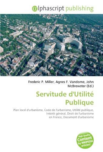 9786133968073: SERVITUDE D'UTILIT?? PUBLIQUE