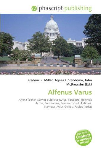 9786133972957: Alfenus Varus