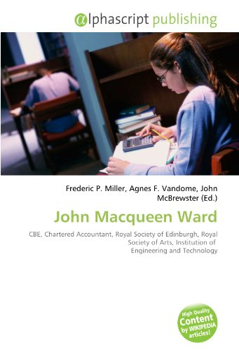 9786134018890: John Macqueen Ward