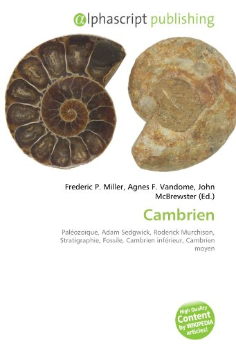 9786134052542: Cambrien: Pal�ozo�que, Adam Sedgwick, Roderick Murchison, Stratigraphie, Fossile, Cambrien inf�rieur, Cambrien moyen