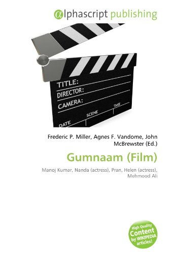 9786134069656: Gumnaam (Film): Manoj Kumar, Nanda (actress), Pran, Helen (actress), Mehmood Ali