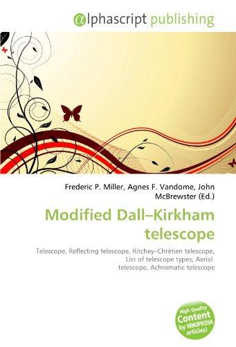 9786134114899: Modified Dall-Kirkham Telescope