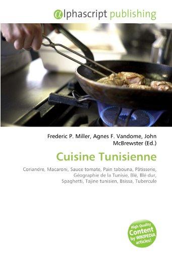 9786134125178: Cuisine Tunisienne