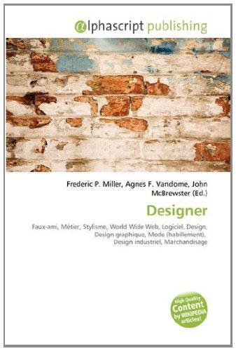 9786134161909: Designer