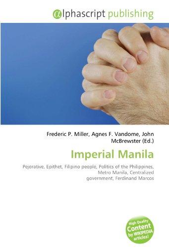 9786134171892: Imperial Manila