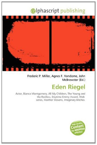 9786134176699: Eden Riegel