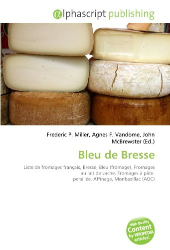 9786134237178: Bleu de Bresse (French Edition)