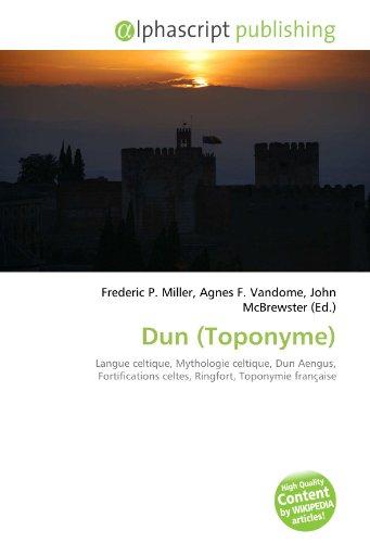 9786134263764: Dun (Toponyme) (French Edition)