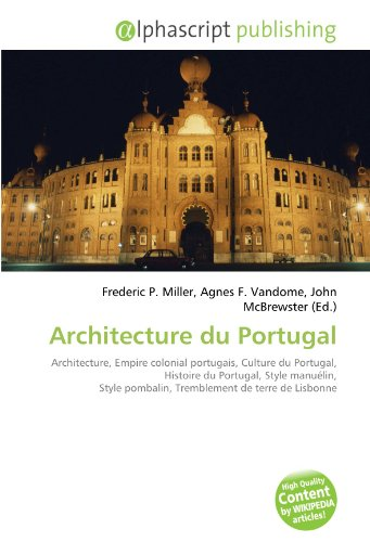 9786134264945: Architecture du Portugal (French Edition)