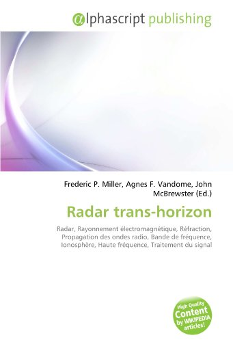 9786134265379: Radar trans-horizon (French Edition)