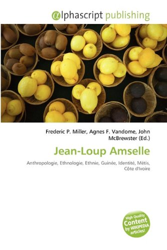 9786134285285: Jean-Loup Amselle (French Edition)