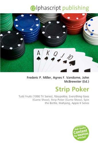 9786134296205 Strip Poker Tutti Frutti 1990 Tv Series Rasypokka