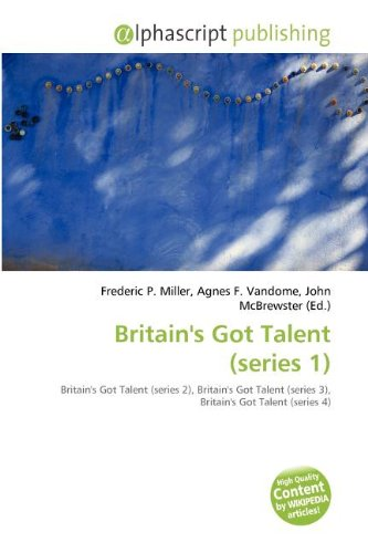 9786134313728: Britain's Got Talent (series 1)