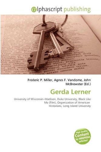 9786134314367: Gerda Lerner