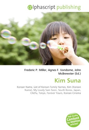 9786134318389: Kim Suna: Korean Name, List of Korean Family
