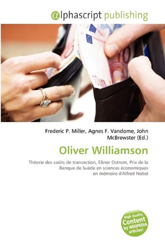 9786134370271: Oliver Williamson (French Edition)