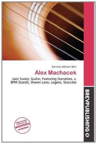 9786134966351: Alex Machacek