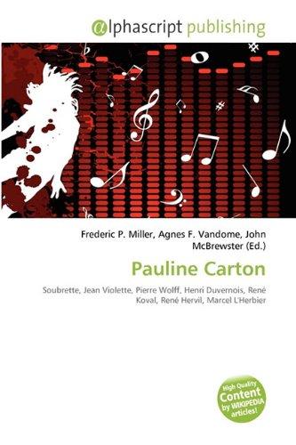 9786135546149: Pauline Carton